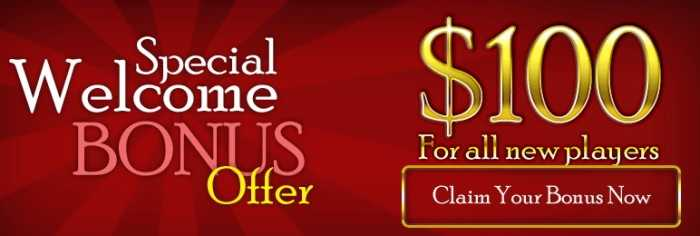 Free Welcome Bonus No Deposit Casino It Is Time For Big Wins
